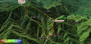 (丹沢)大山と春岳山