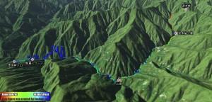 島々から徳本峠を越えて上高地へ