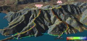 仏果山と高取山、下りはバリエーションルートで