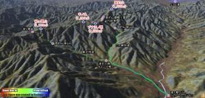 晩秋の菰釣山から城ヶ尾峠を周回してきました