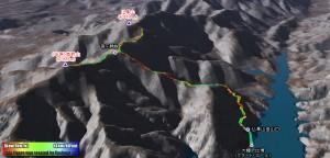 全天球カメラのテストを丹沢前衛の山で