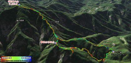 (丹沢)大山から春岳山を周回して未知のバリエーションルートへ