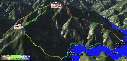 世附権現山からミツバ岳縦走で大迷走