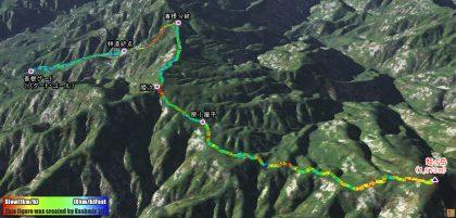 蛭ヶ岳へトレーニング山行