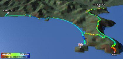 山陰海岸ジオパークトレイルを歩いてきました〜コース1〜
