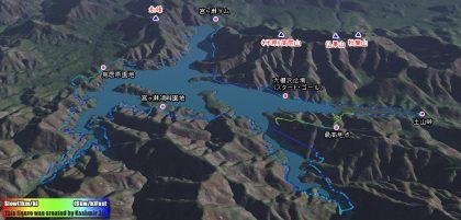 宮ヶ瀬湖を一周してきました