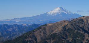 初詣登山、(丹沢)大山と春岳山