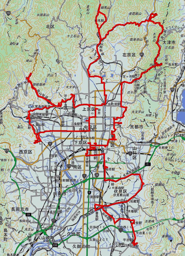 京都一周歩き旅