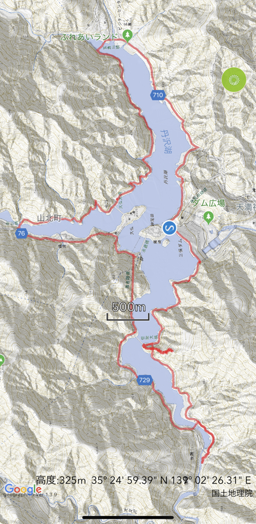丹沢湖湖一周