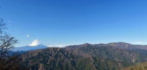 最後の初詣登山、(丹沢)大山と春岳山