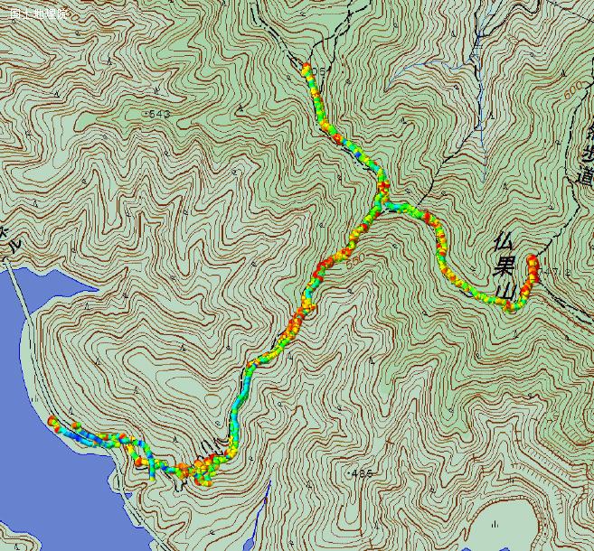 仏果山トレッキングログ